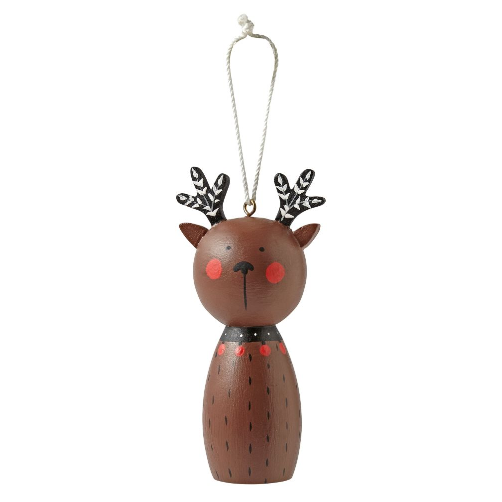 Christmas Crew Reindeer Ornament
