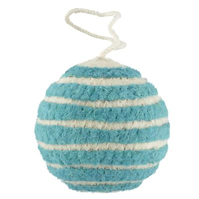 Bright Stripes Ornament (Aqua)