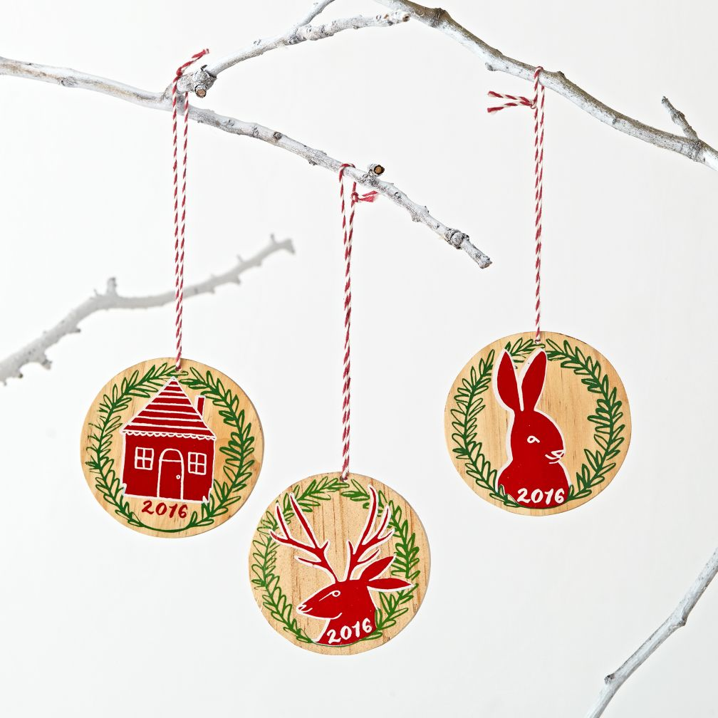 Festive Folklore 2016 Ornaments