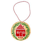 Festive Folklore House 2016 Ornament