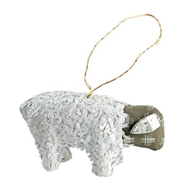 Festive Wildlife Ornament (Sheep)
