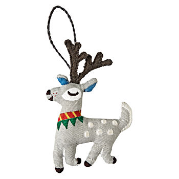 Good Cheer Deer Ornament