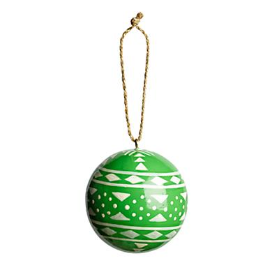 Patterened Ornament (Green)