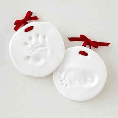 Make an Impression Ornament (Set of 2)