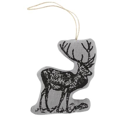 Deer Menagerie Ornament