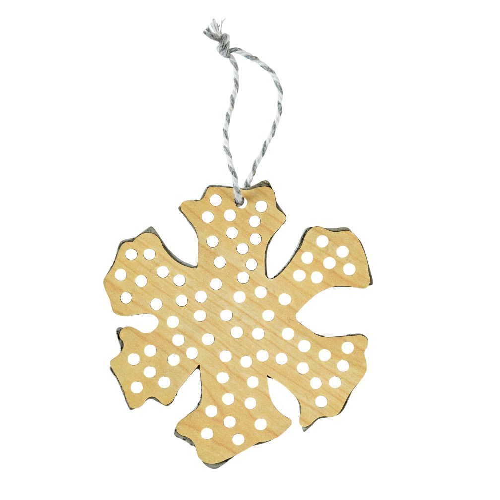 Merry Making Ornament (Snowflake)