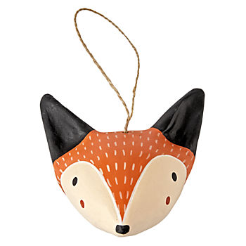 Merry Meadow Fox Ornament