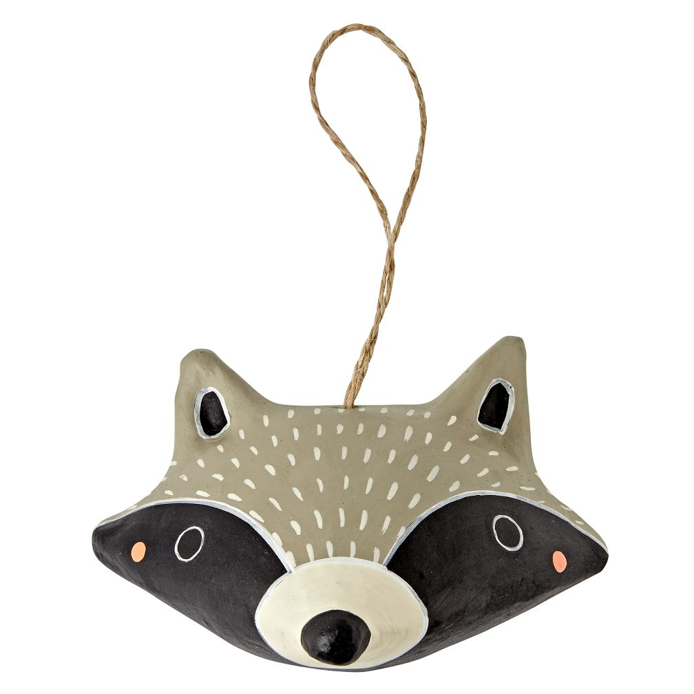 Merry Meadow Raccoon Ornament
