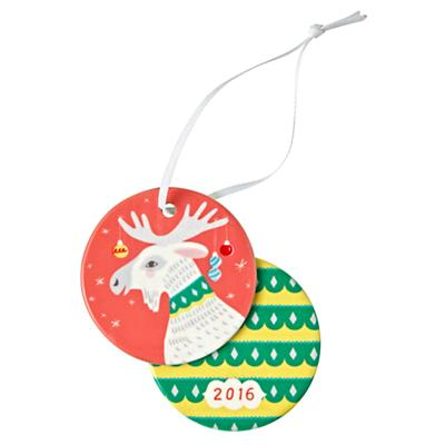 You Name It Deer Ornament by Sarah Walsh