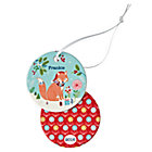 You Name It Fox Ornament by Bethan Janine