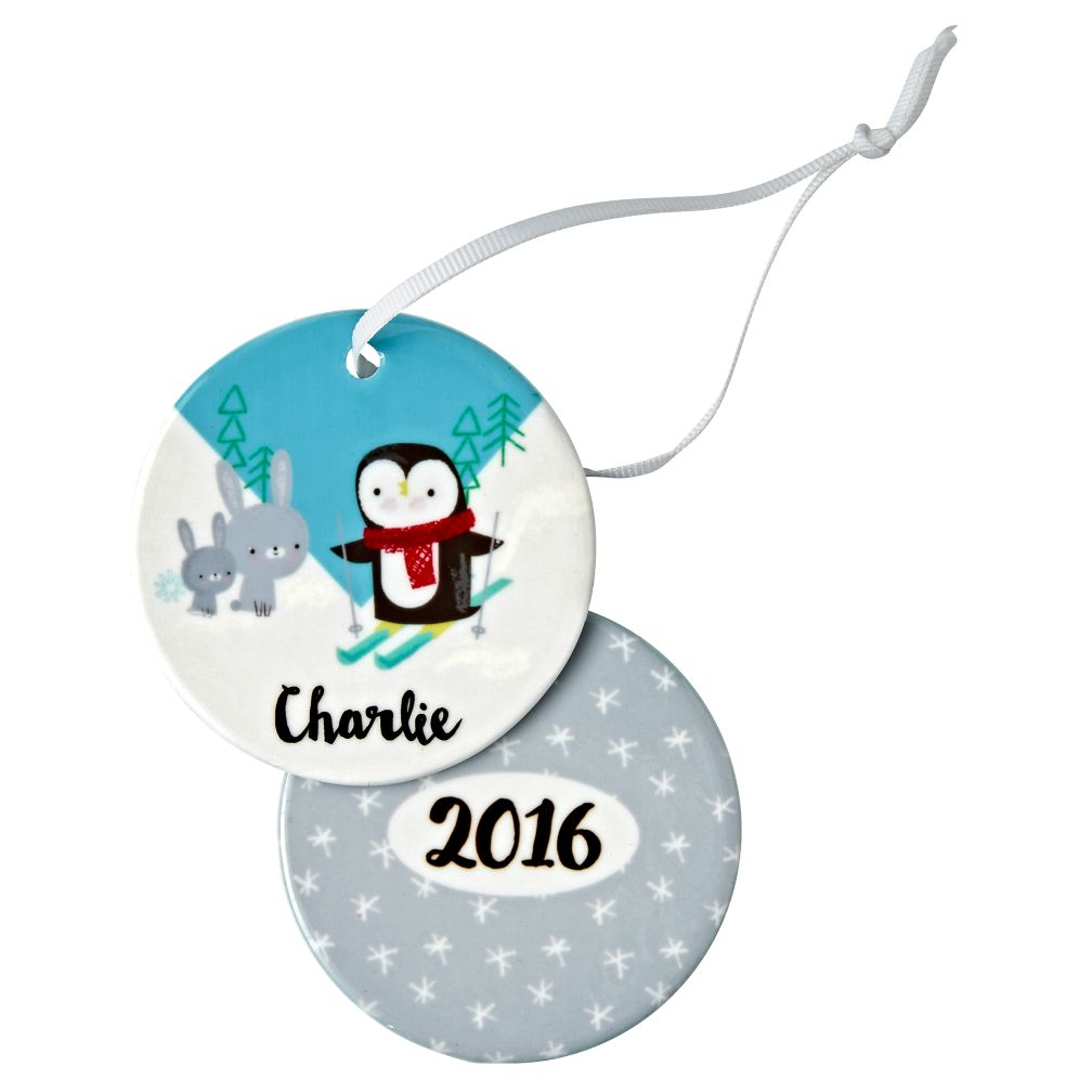 You Name It Penguin Ornament by Jillian Phillips