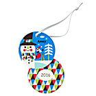 You Name It Snowman Ornament by Amy Blay