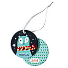 You Name It Winter Bear Ornament by Sarah Walsh