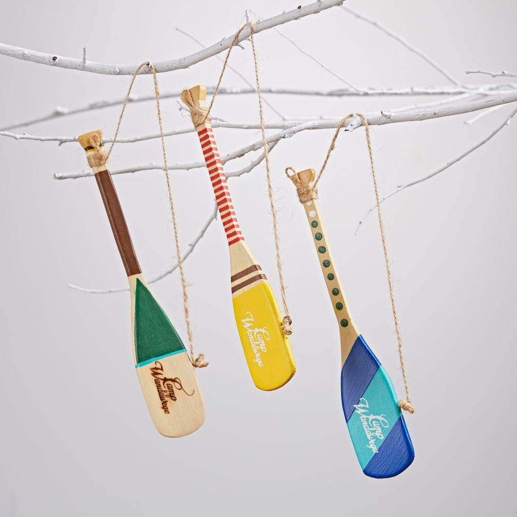 Wooden Oar-naments (Set of 3)