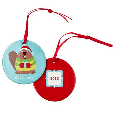 You Name It Ornament by Vicky Barone (Beaver)
