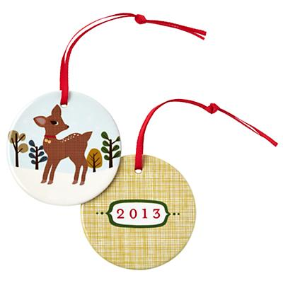 You Name It Ornament by Stacy Amoo-Mensah (Forest Deer)