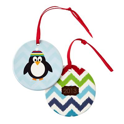 You Name It Ornament by Stacy Amoo-Mensah (Penguin in Hat)