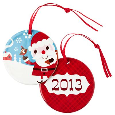 You Name It Ornament by Amy Blay (Santa)