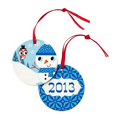 You Name It Ornament by Amy Blay (Snowman)