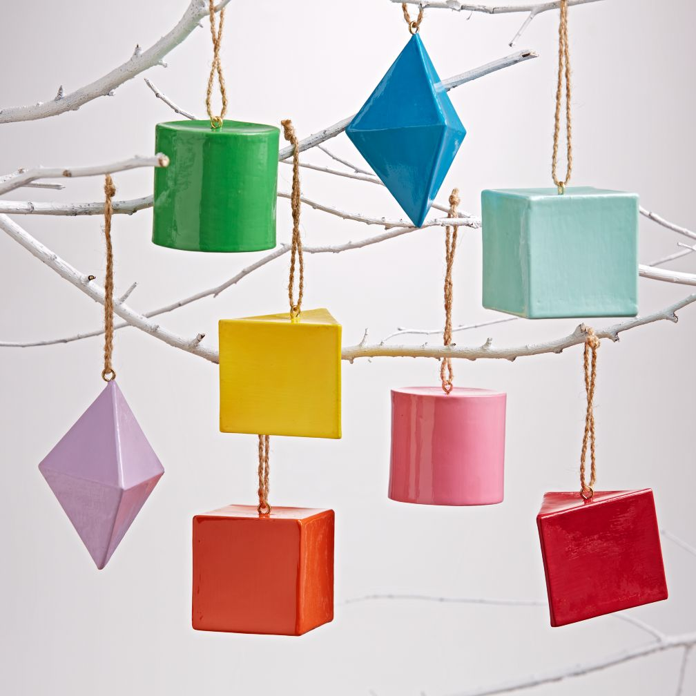 Rainbow Shape Ornaments (Set of 8)