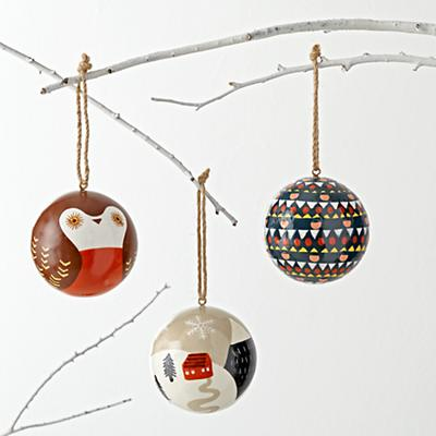 Simply Christmas Ornaments