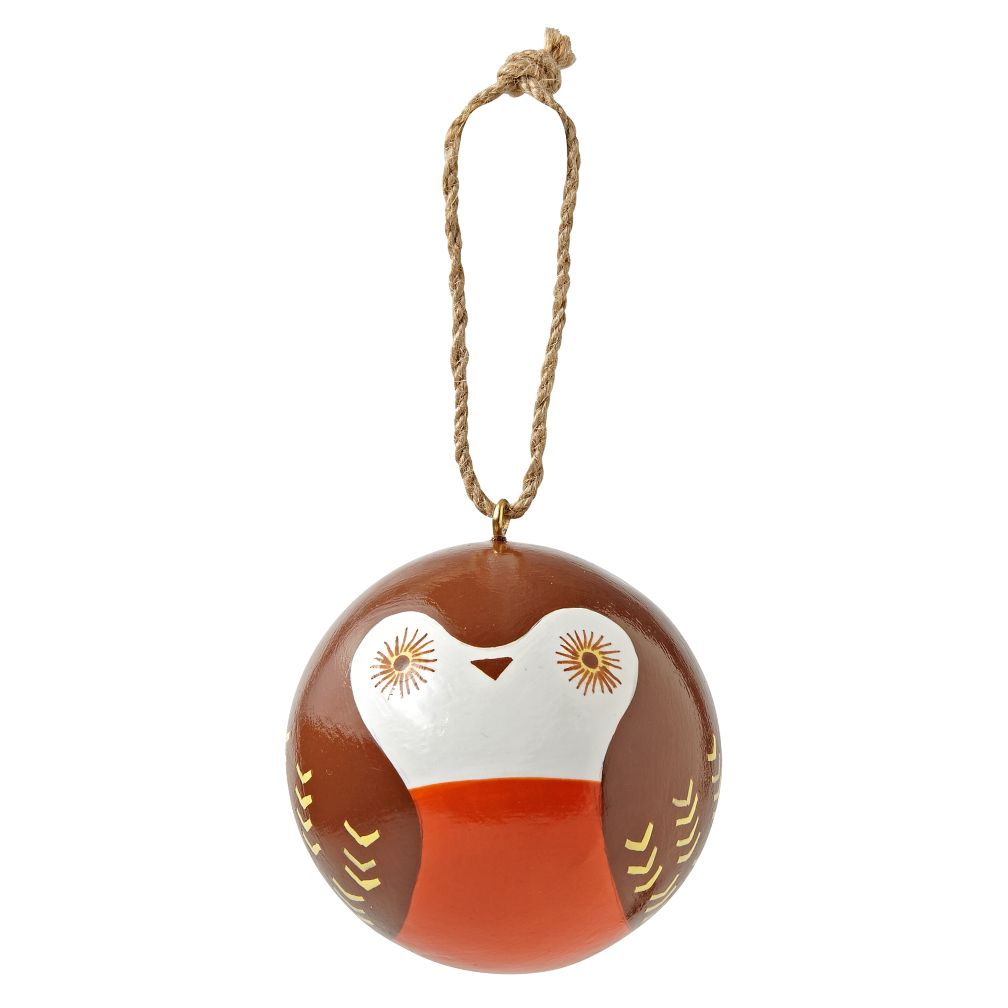 Simply Christmas Owl Ornament