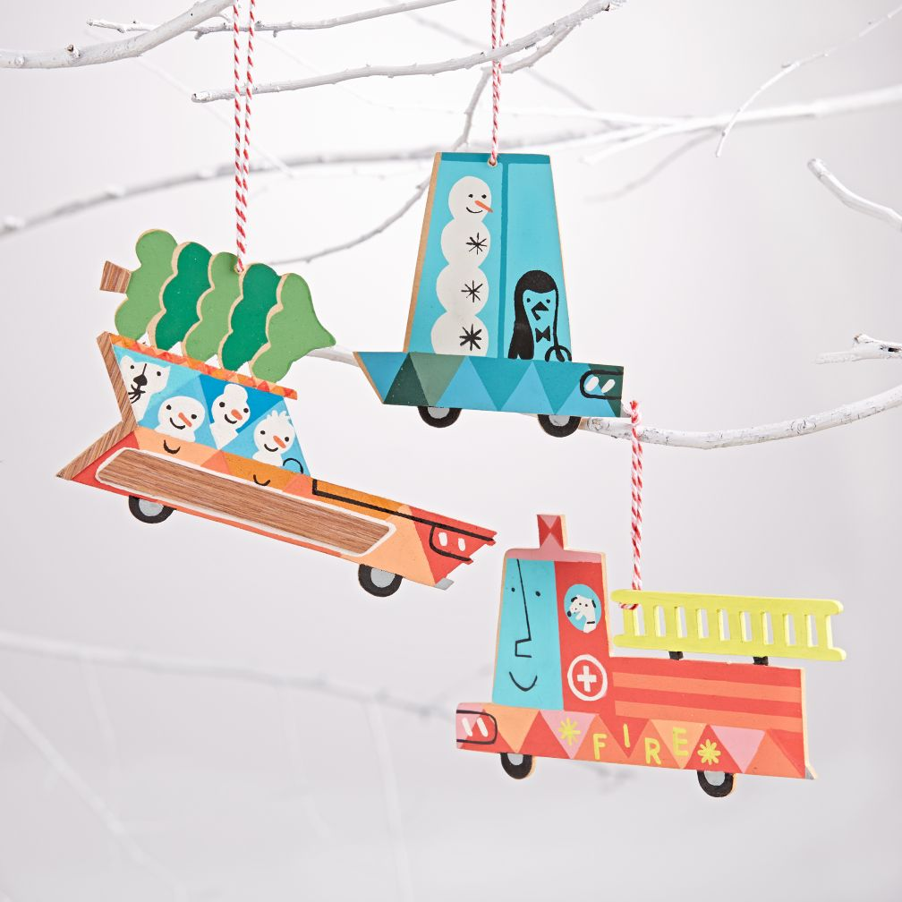 Holiday Travel Ornament