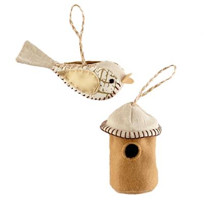 The Tweet Life Ornament Set (Gold)