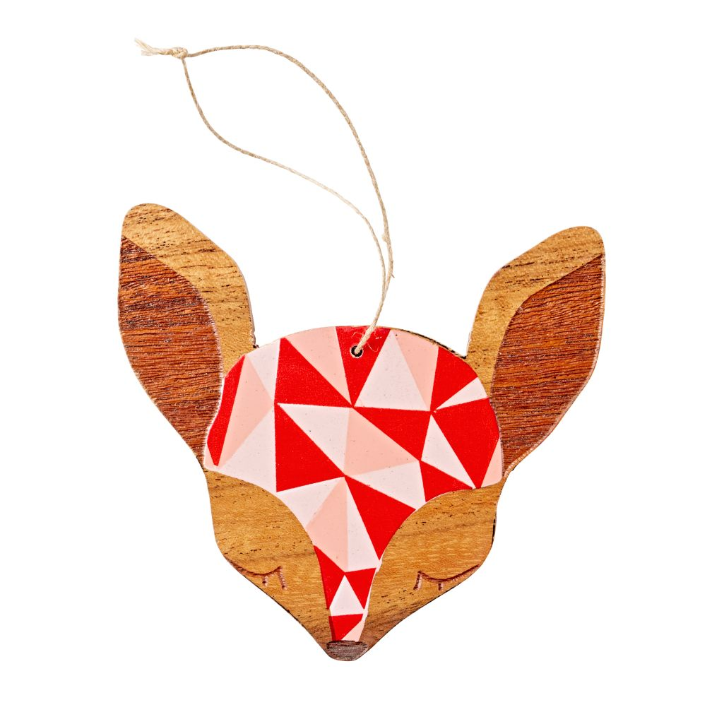 Woodland Geo Ornament (Deer)