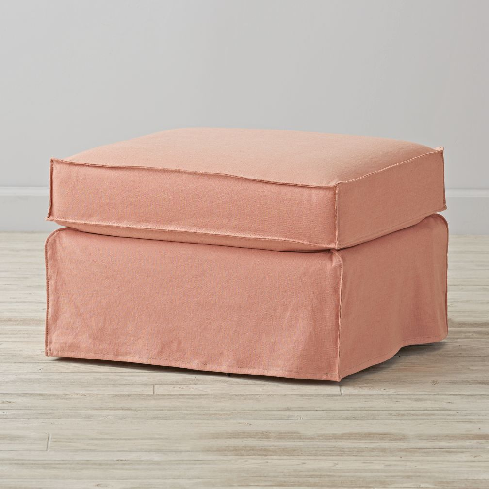 Larkin High Low Changing Table Slipcovered Gliding Ottoman $649.00 More Colors Available