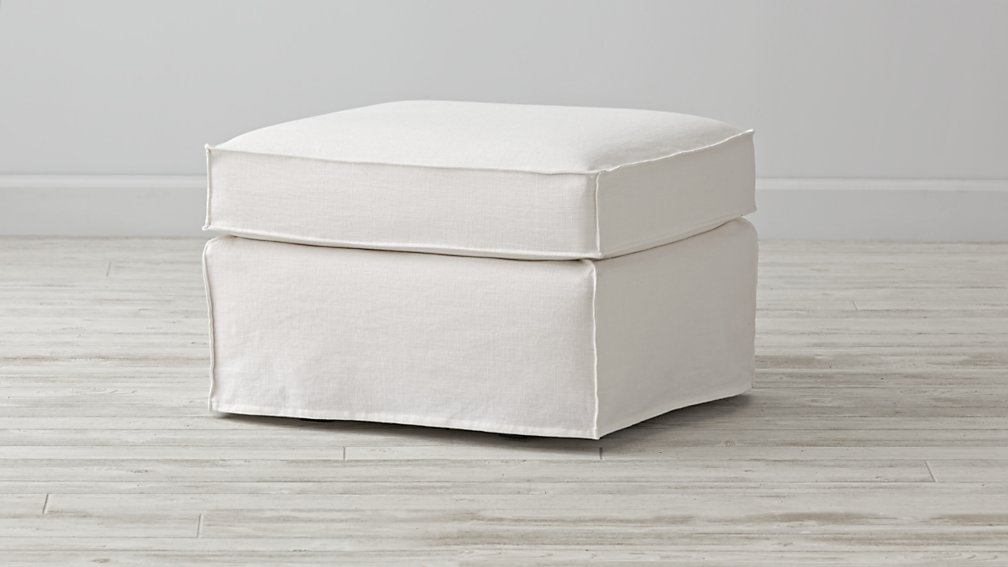 Ottoman Slipcover Only