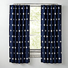 "63"" Blue Positive Blackout  Curtain(Sold Individually)"