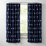 Blue Positive Blackout Curtains