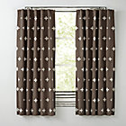 "63"" Grey Positive Blackout  Curtain(Sold Individually)"