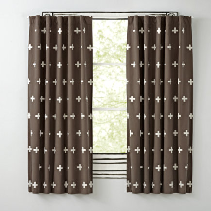 Grey Positive Curtain - 63 Grey Positive Blackout  Curtain<br /><br />(Sold Individually)