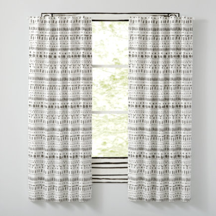 63 Wild Excursion Grey Curtain(Sold Individually)