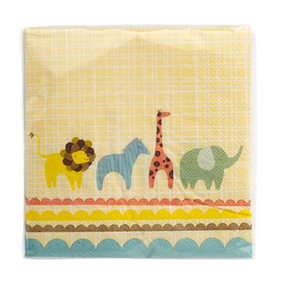 Animal Parade Party Napkins (Set of 20)