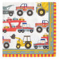 - Construction Small Napkins (set Of 20)