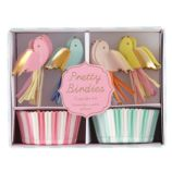 Toot Sweet Pretty Birdies Cupcake Kit