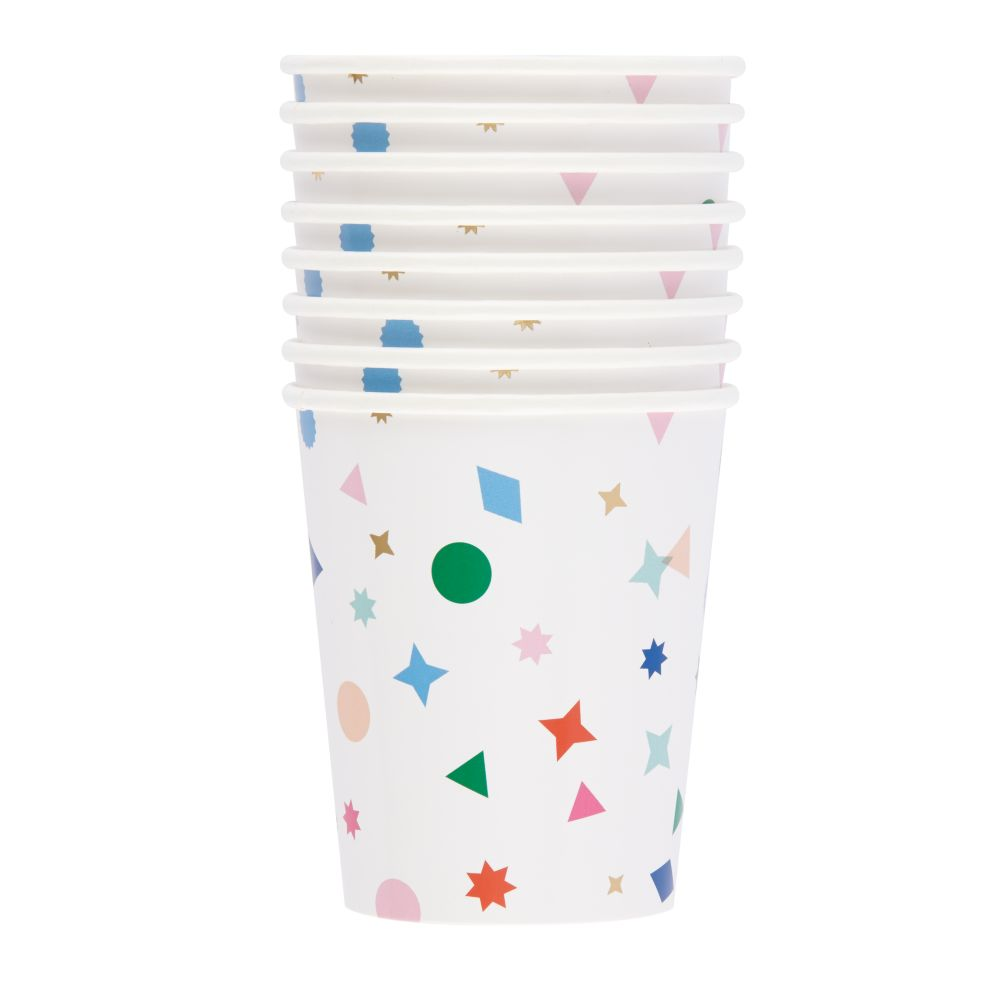 Toot Sweet Charms Party Cups (Set of 8)