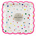 Toot Sweet Charms Large Party PlatesSet of 8