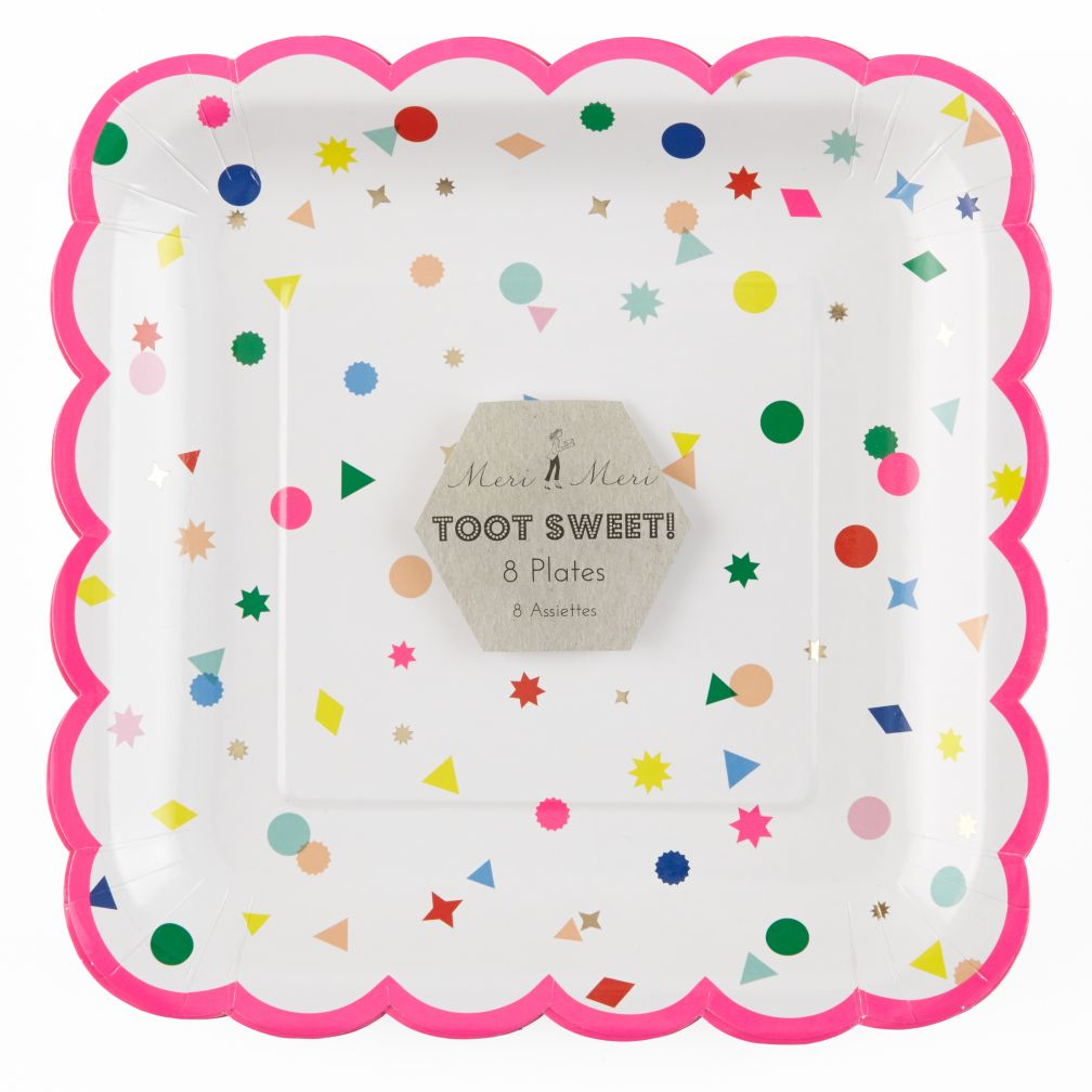 Toot Sweet Charms Large Plates (Set of 8)