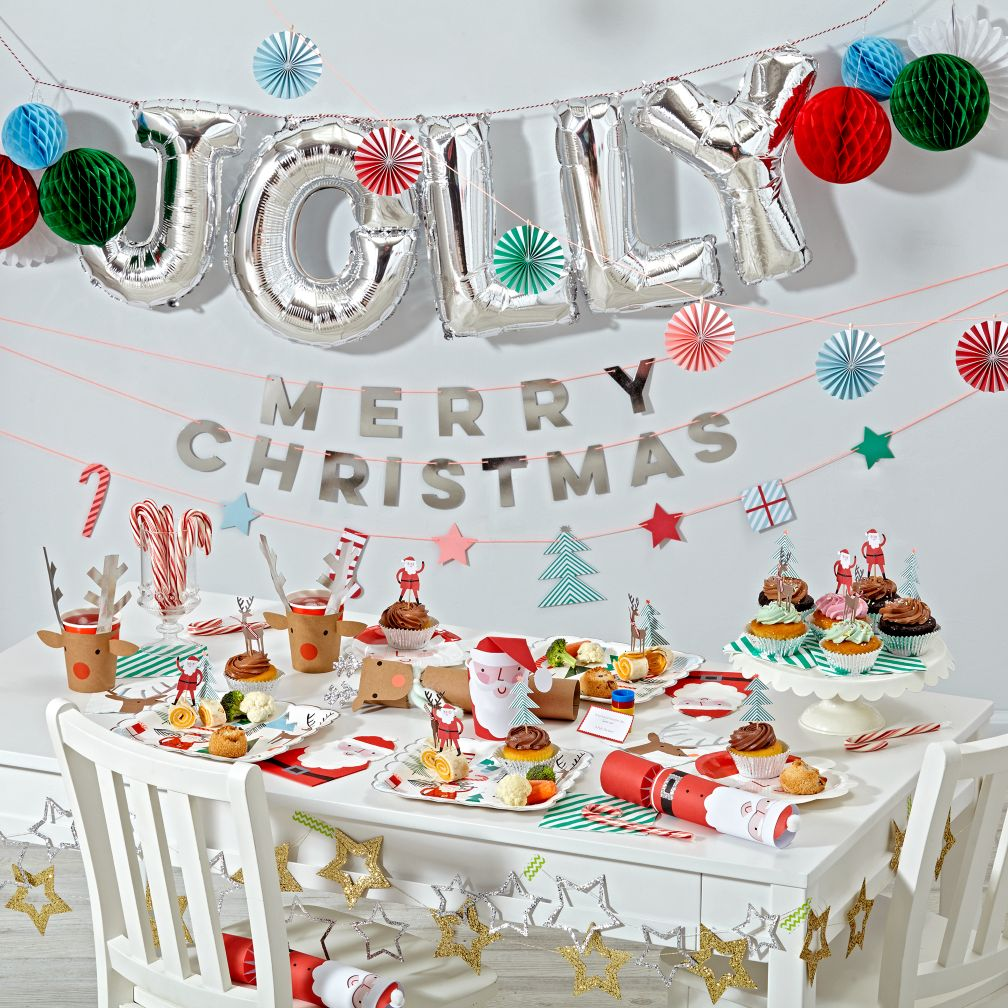 Kids christmas party decoration ideas for Decoration decoration