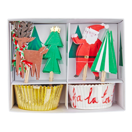 - Christmas Cupcake Kit Set/24