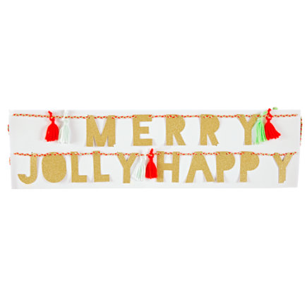 - Christmas Party Garland
