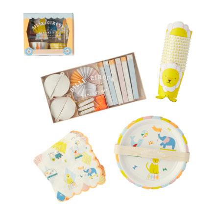 Silly Circus Basic Party Kit - Silly Circus Basic Party Kit