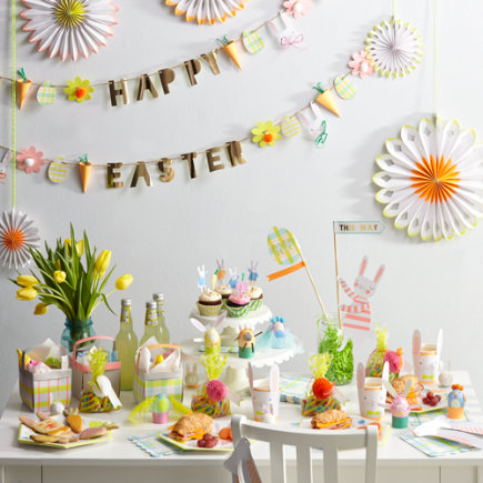 Land of Nod Easter Party items by Meri Meri are so adorable. Table decorations, cupcake liners and toppers & so much more - buy one or buy all in a kit. 1