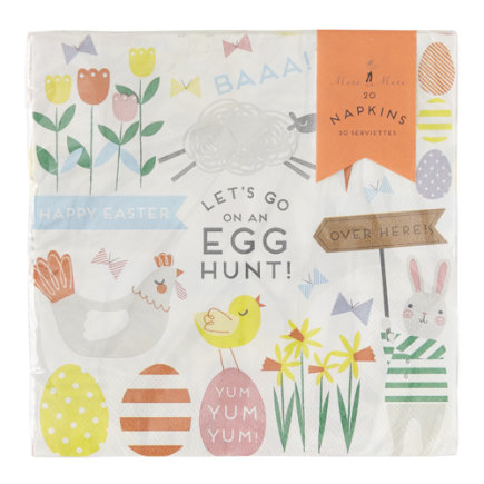 Land of Nod Easter Party items by Meri Meri are so adorable. Table decorations, cupcake liners and toppers & so much more - buy one or buy all in a kit. 8