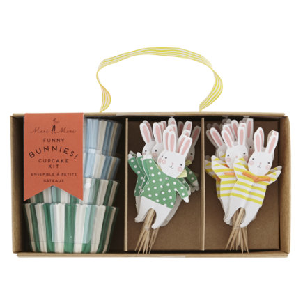 Land of Nod Easter Party items by Meri Meri are so adorable. Table decorations, cupcake liners and toppers & so much more - buy one or buy all in a kit. 12