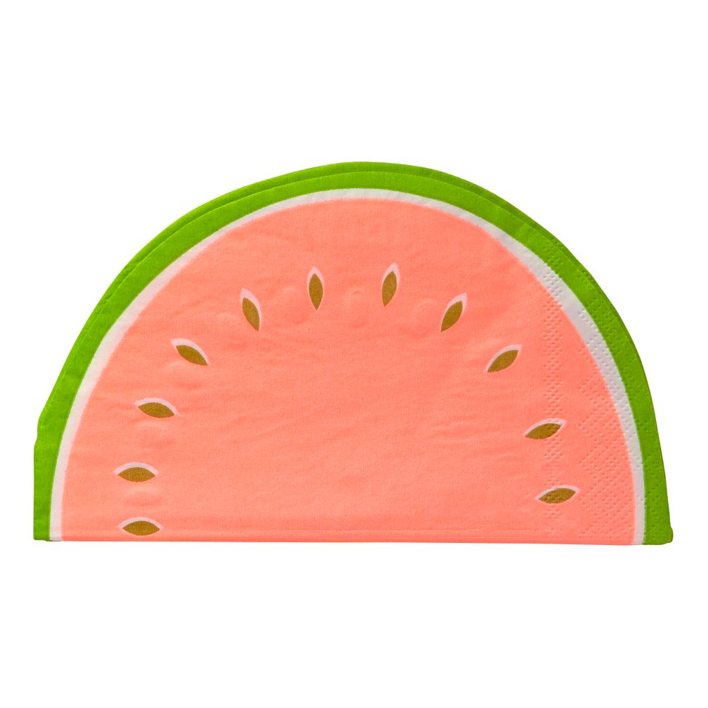 Watermelon Napkins (Set of 16)